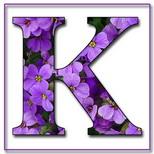 Felicitari cu nume de zi de nastere: Litera K