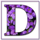 Felicitari cu nume 8 Martie Ziua Femeii: Litera D