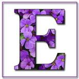 Felicitari cu nume 8 Martie Ziua Femeii: Litera E