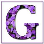 Felicitari cu nume de dragoste: Litera G