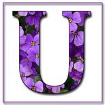 Felicitari cu nume 8 Martie Ziua Femeii: Litera U