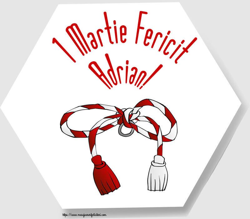 Felicitari de Martisor | 1 Martie Fericit Adrian!