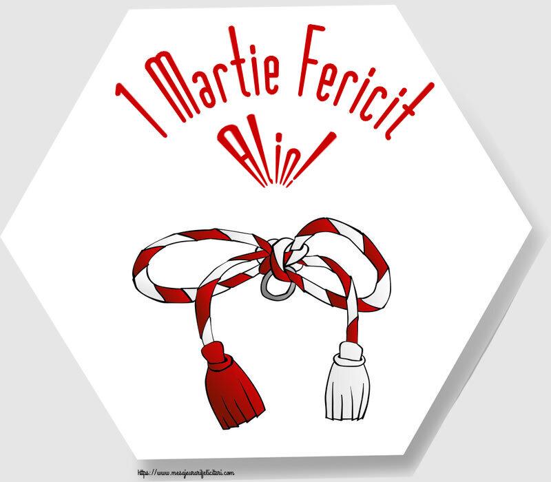 Felicitari de Martisor | 1 Martie Fericit Alin!