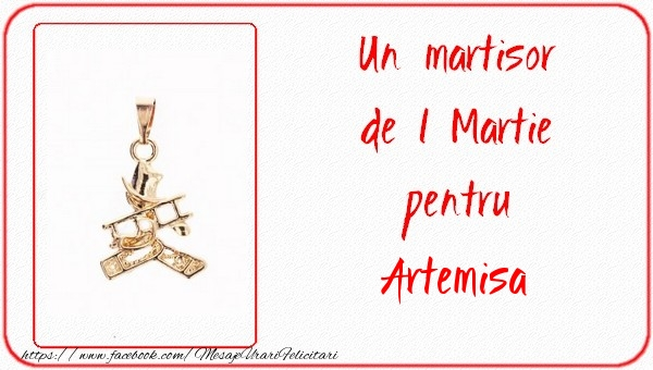 Felicitari de Martisor | Un martisor pentru Artemisa