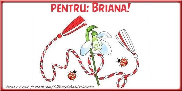 Felicitari de Martisor   Pentru Briana!