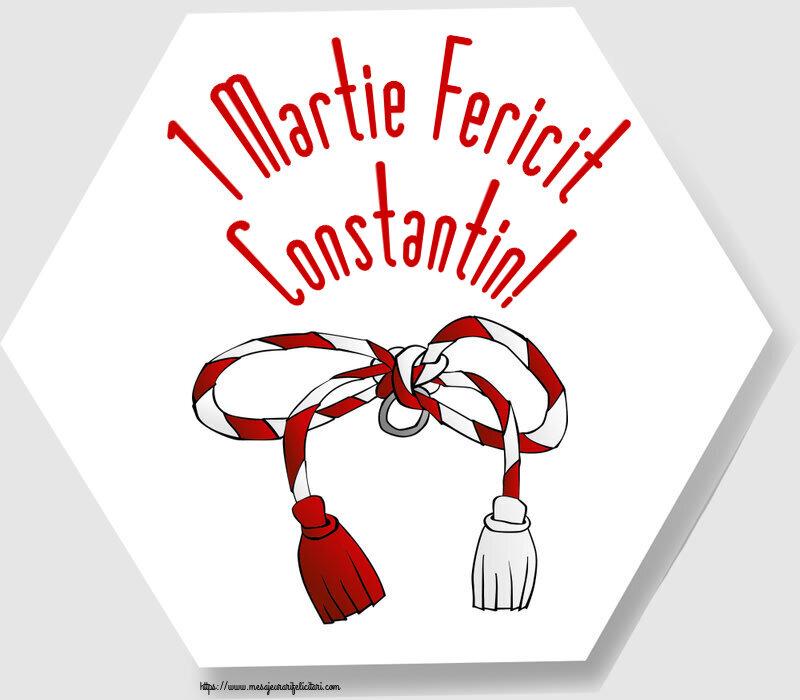 Felicitari de Martisor | 1 Martie Fericit Constantin!