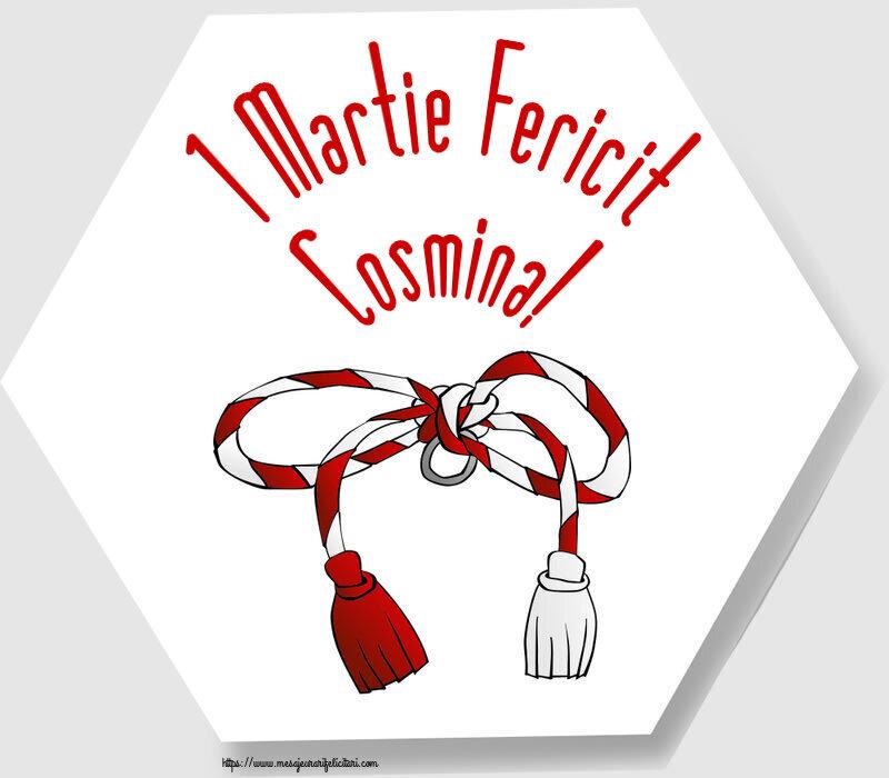 Felicitari de Martisor | 1 Martie Fericit Cosmina!