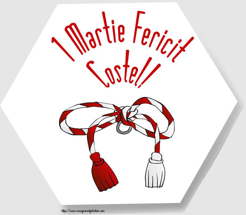 Felicitari de Martisor | 1 Martie Fericit Costel!