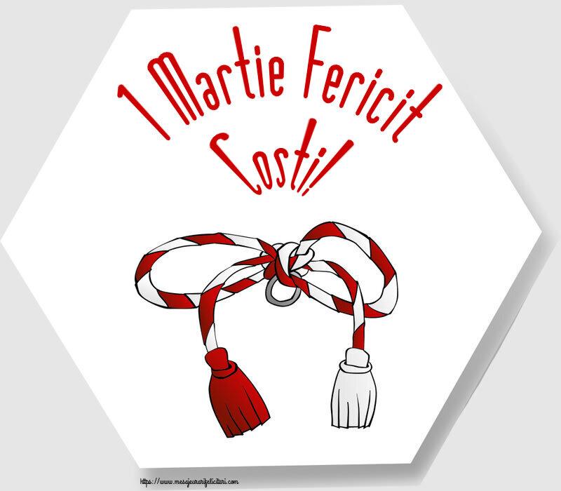 Felicitari de Martisor | 1 Martie Fericit Costi!
