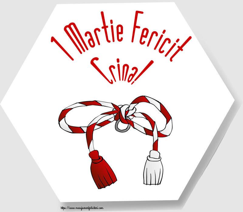 Felicitari de Martisor | 1 Martie Fericit Crina!