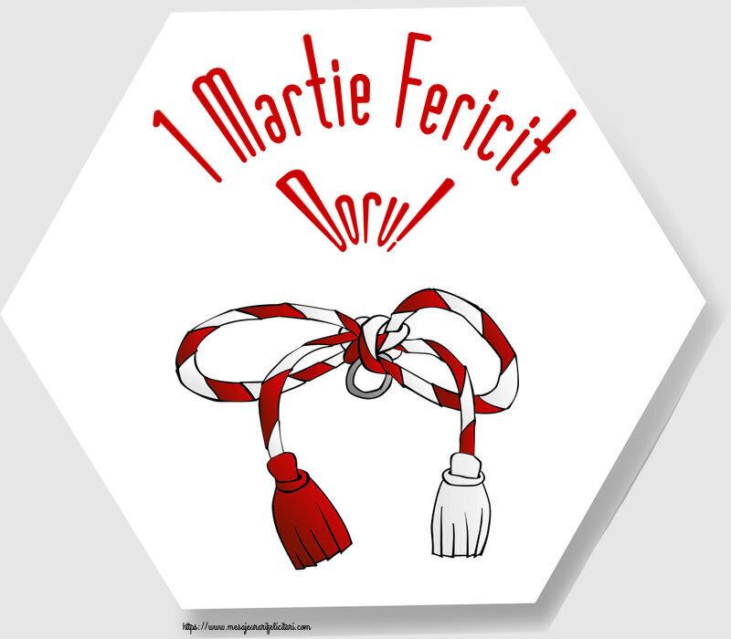Felicitari de Martisor   1 Martie Fericit Doru!