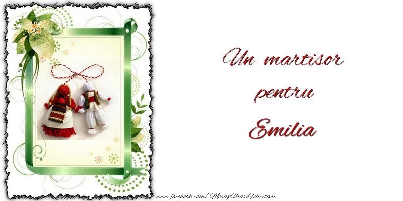 Felicitari de Martisor | Un martisor pentru Emilia