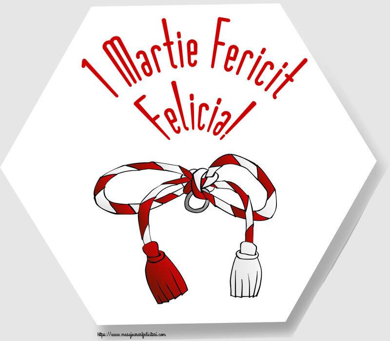 Felicitari de Martisor | 1 Martie Fericit Felicia!