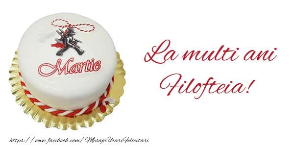 Felicitari de Martisor | 1 martie La multi ani  Filofteia!