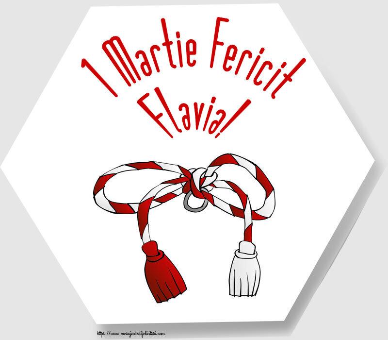 Felicitari de Martisor | 1 Martie Fericit Flavia!