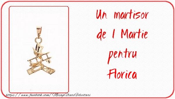 Felicitari de Martisor | Un martisor pentru Florica