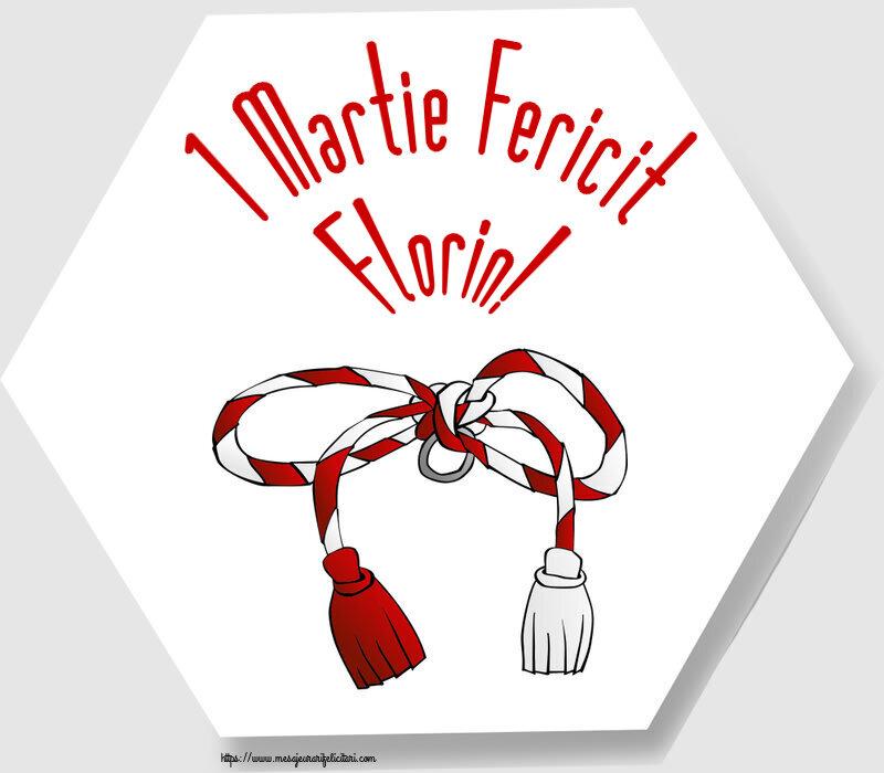 Felicitari de Martisor | 1 Martie Fericit Florin!