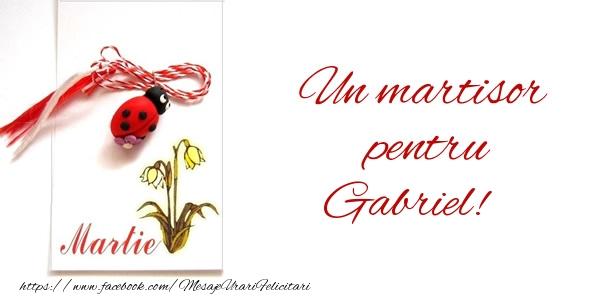Felicitari de Martisor | Un martisor pentru Gabriel!