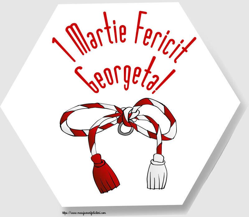 Felicitari de Martisor | 1 Martie Fericit Georgeta!