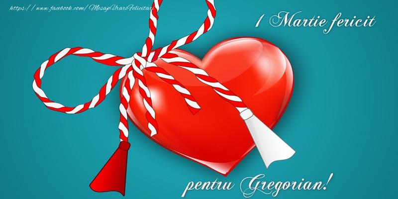 Felicitari de Martisor   1 Martie fericit pentru Gregorian