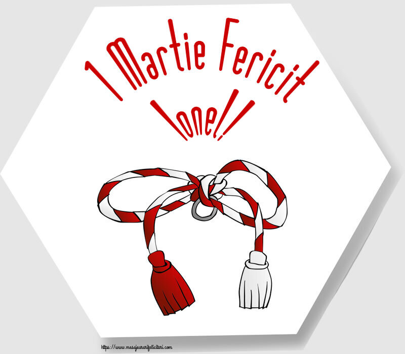 Felicitari de Martisor | 1 Martie Fericit Ionel!
