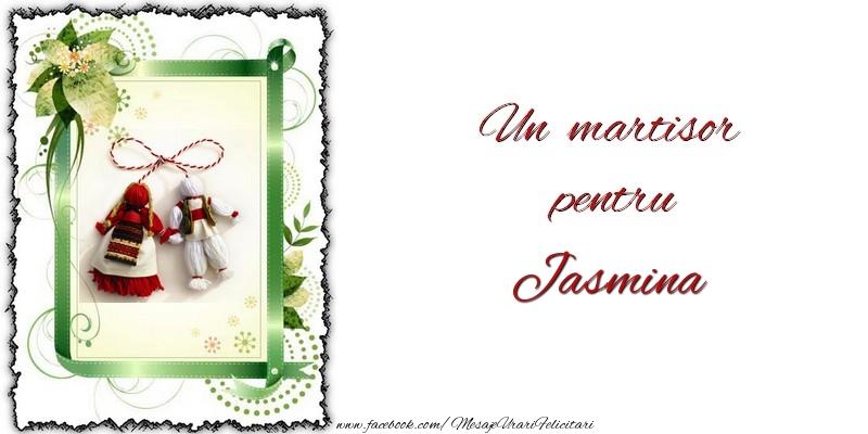 Felicitari de Martisor | Un martisor pentru Jasmina
