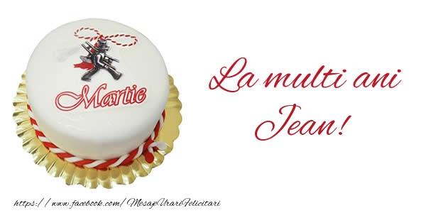 Felicitari de Martisor | 1 martie La multi ani  Jean!