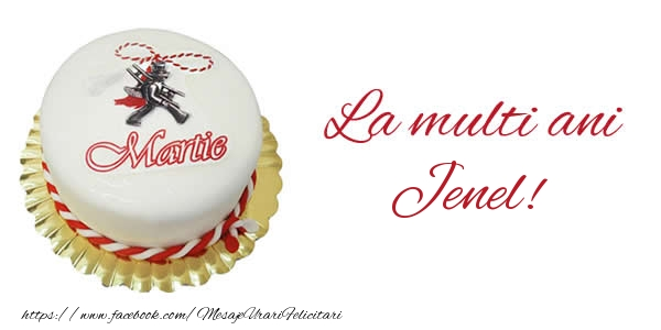 Felicitari de Martisor | 1 martie La multi ani  Jenel!