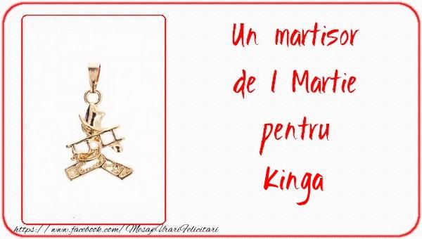 Felicitari de Martisor | Un martisor pentru Kinga