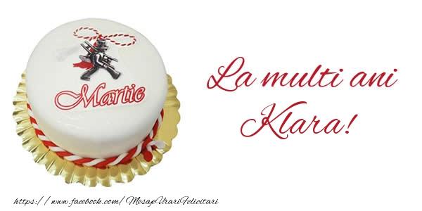 Felicitari de Martisor | 1 martie La multi ani  Klara!