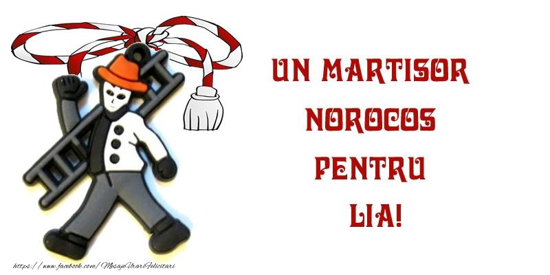 Felicitari de Martisor | Un martisor norocos pentru Lia!