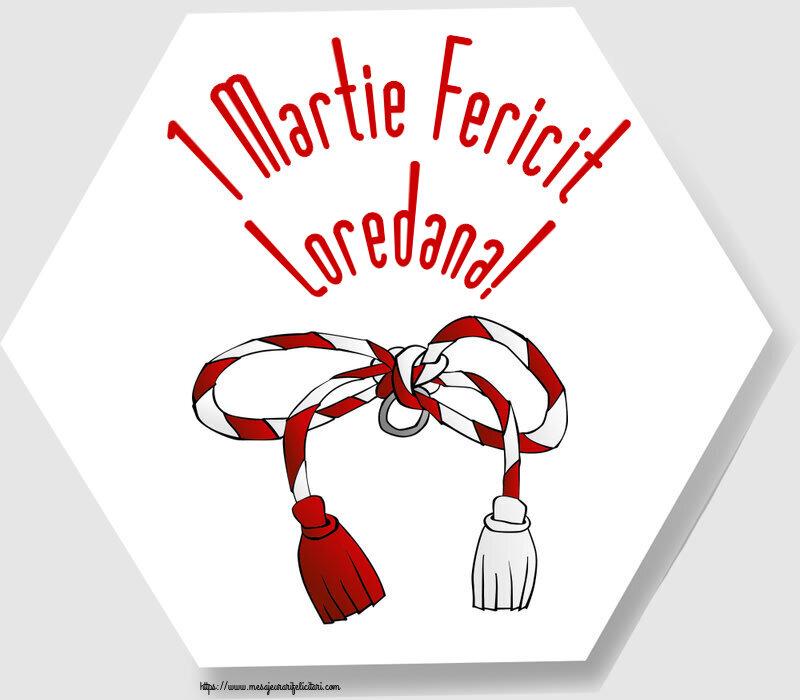 Felicitari de Martisor | 1 Martie Fericit Loredana!