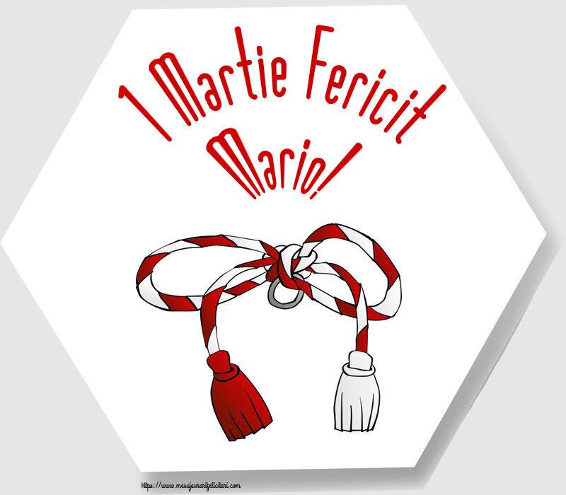 Felicitari de Martisor | 1 Martie Fericit Mario!