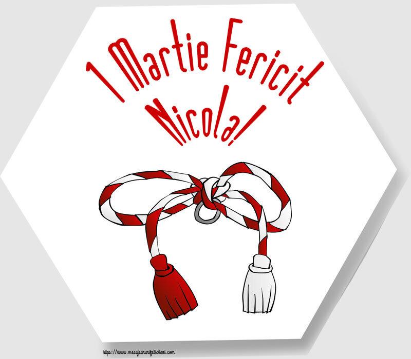 Felicitari de Martisor | 1 Martie Fericit Nicola!