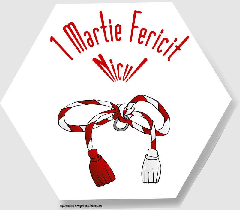 Felicitari de Martisor | 1 Martie Fericit Nicu!