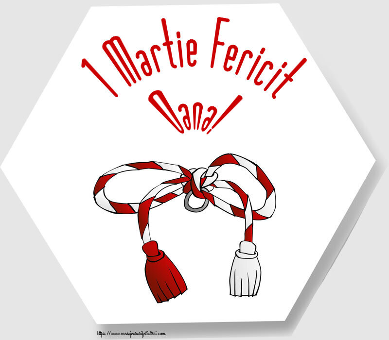 Felicitari de Martisor   1 Martie Fericit Oana!