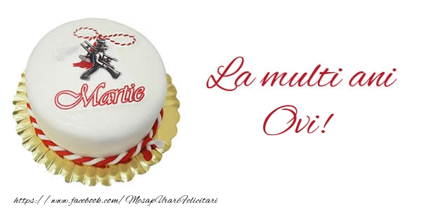 Felicitari de Martisor | 1 martie La multi ani  Ovi!