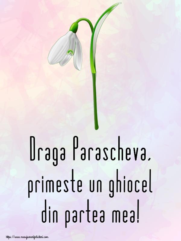 Felicitari de Martisor | Draga Parascheva, primeste un ghiocel din partea mea!