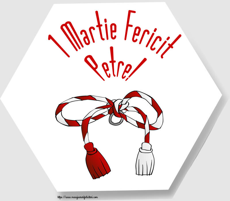 Felicitari de Martisor | 1 Martie Fericit Petre!