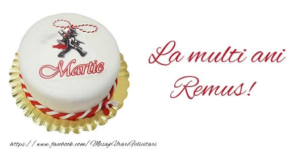 Felicitari de Martisor | 1 martie La multi ani  Remus!