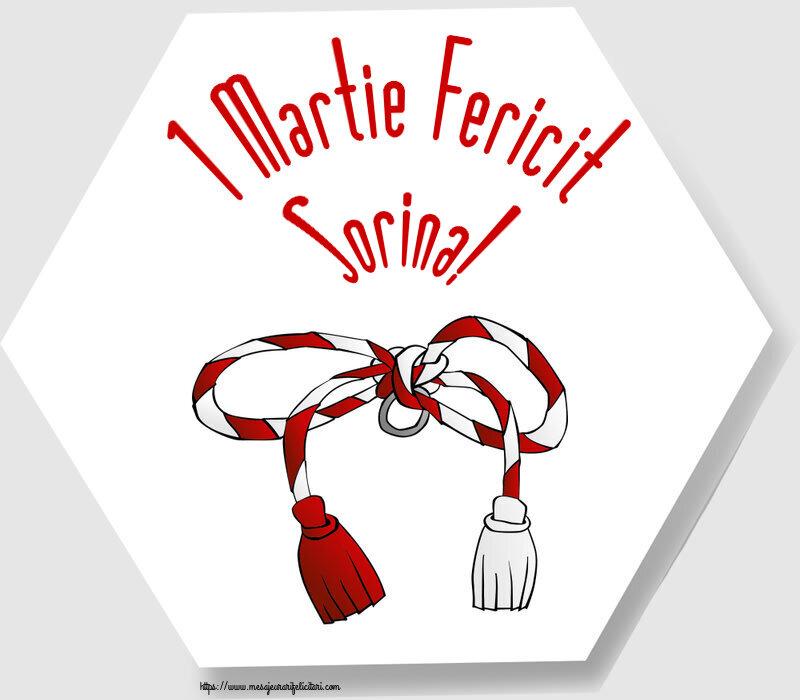 Felicitari de Martisor   1 Martie Fericit Sorina!