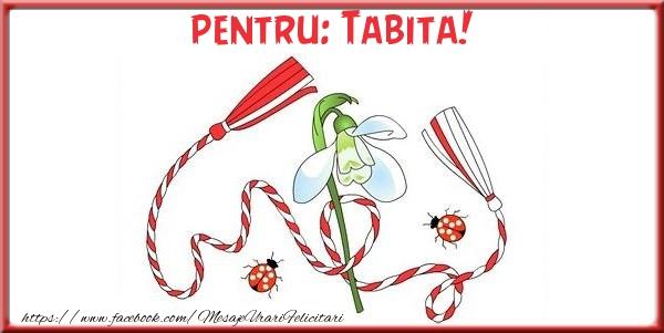 Felicitari de Martisor | Pentru Tabita!