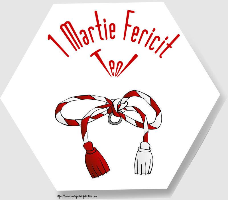 Felicitari de Martisor | 1 Martie Fericit Teo!