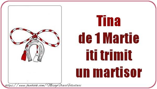 Felicitari de Martisor | Tina de 1 Martie  iti trimit  un martisor