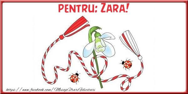 Felicitari de Martisor   Pentru Zara!