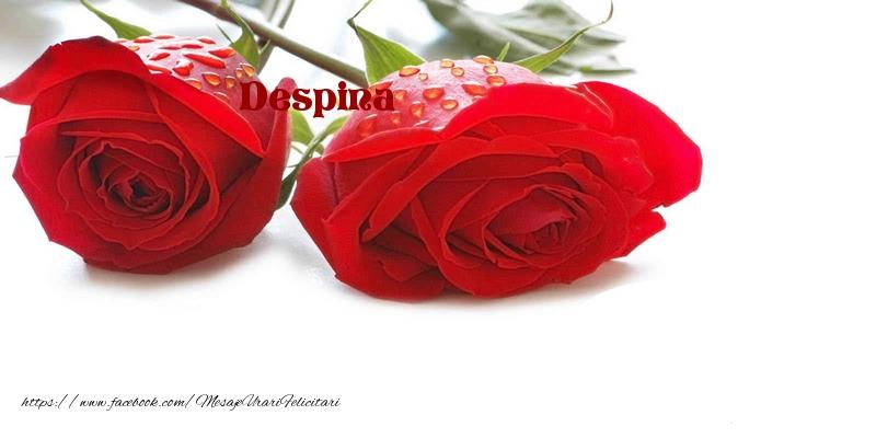 Felicitari 8 Martie Ziua Femeii | La multi ani Despina