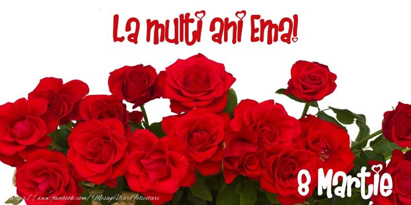Felicitari 8 Martie Ziua Femeii | La multi ani Ema! 8 Martie