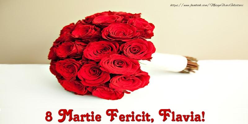 Felicitari 8 Martie Ziua Femeii | 8 Martie Fericit, Flavia!