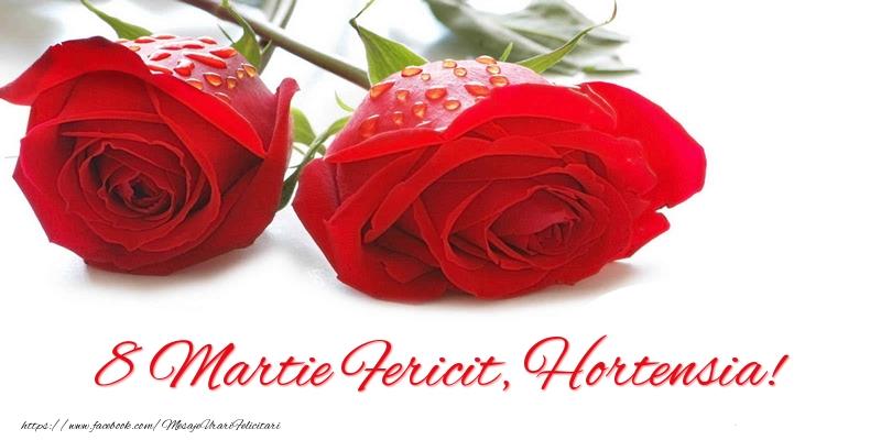 Felicitari 8 Martie Ziua Femeii | 8 Martie Fericit, Hortensia!