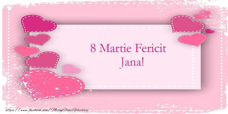 Felicitari 8 Martie Ziua Femeii | 8 Martie Fericit Jana!